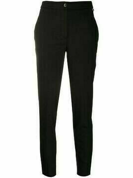 Twin-Set fitted straight leg trousers - Black