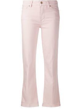 7 For All Mankind cropped flared jeans - PINK