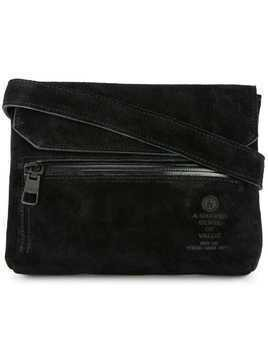 As2ov flap shoulder bag - Black