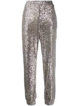 Pinko sequin jogging pants - Metallic