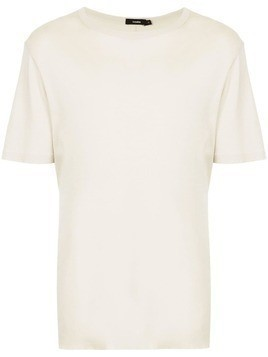 Bassike washed effect T-shirt - Nude & Neutrals