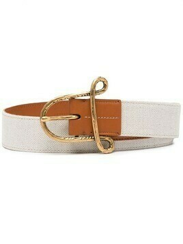 Altuzarra A buckle belt - Neutrals