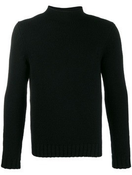 Malo cashmere knit jumper - Black