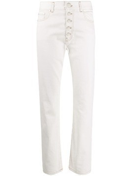 Joseph Den slim-fit denim jeans - White