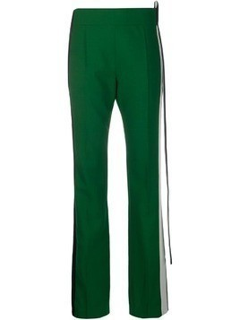 Haider Ackermann side-stripe tailored trousers - Green