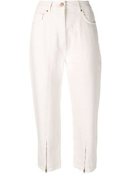 Aalto cropped jeans - Neutrals