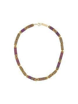 Isabel Marant beaded short necklace - GOLD