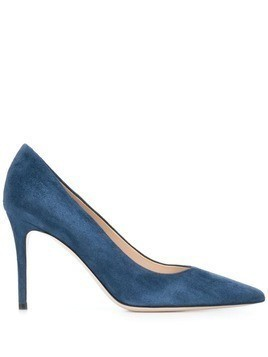 Deimille pointed high heel pumps - Blue