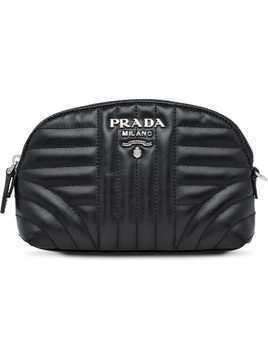 Prada Leather wash bag - Black