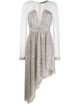 Christian Pellizzari sequin embellished dress - Neutrals