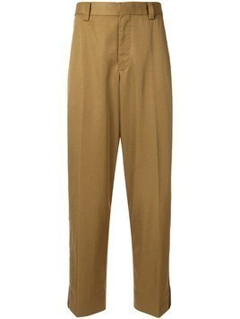 Coohem side stripe trousers - Brown