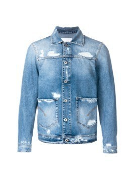 Dondup distressed denim jacket - Blue