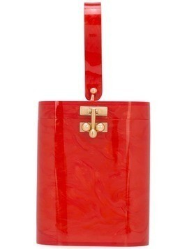 Edie Parker mini bucket bag - Red