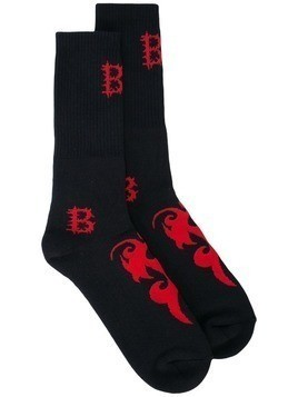 Barbara Bologna Tribal BB socks - Black