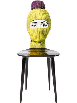Fornasetti Lux Gstaad chair - Yellow & Orange