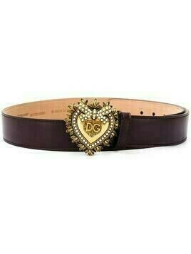 Dolce & Gabbana Devotion buckled belt - PURPLE