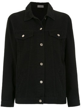 Amapô Relax Nanquim denim jacket - Black