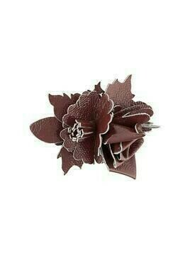 Philosophy Di Lorenzo Serafini flower appliqué brooch - Red