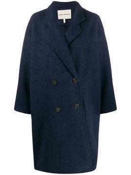 Mara Hoffman button-front coat - Blue