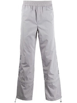 C2h4 elasticated waist track trousers - Grey