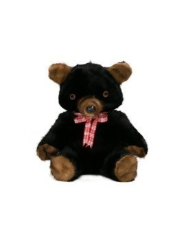 Liska panda bear cuddly toy - Brown