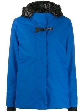 Fay high-neck waterproof jacket - Blue