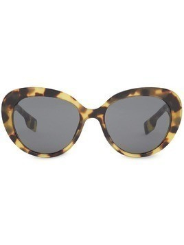 Burberry oversized cat-eye sunglasses - Grey