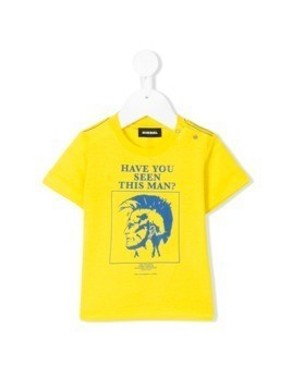 Diesel Kids Trueb T-shirt - Yellow&Orange