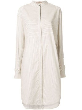 Nehera Darly striped shirt dress - NEUTRALS