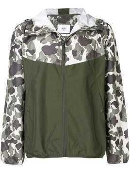Herschel Supply Co. hooded wind breaker jacket - Green