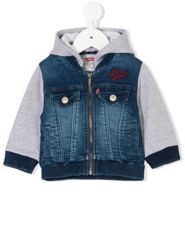 Levi's Kids layered-look denim jacket - Blue