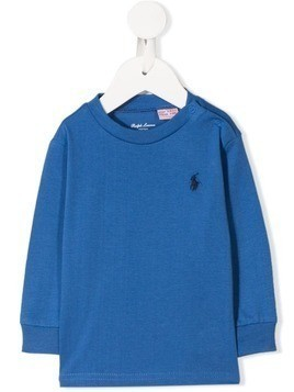 Ralph Lauren Kids logo sweatshirt - Blue