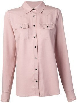 Gold Hawk pocket shirt - Pink