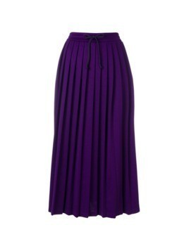 Gucci accordion pleated skirt - Pink&Purple