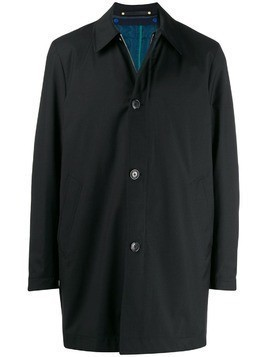 Paul Smith detachable liner raincoat - Black