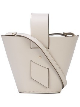 Carolina Santo Domingo Mini Amphora shoulder bag - White