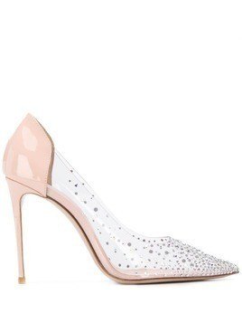 Le Silla embellished stiletto pumps - Neutrals