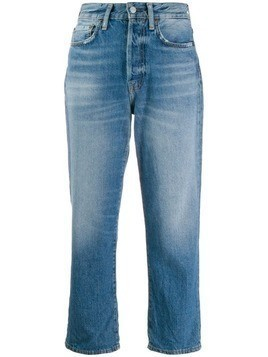 Acne Studios cropped jeans - Blue