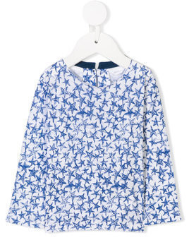 Stella Mccartney Kids star print T-shirt - Blue