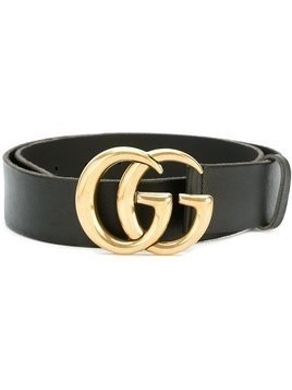 Gucci - 'Double G' belt - Damen - Calf Leather - 95 - Black