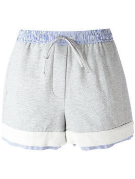 3.1 Phillip Lim drawstring shorts - Grey
