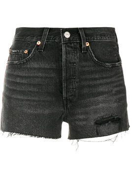 Levi's 501 high rise shorts - Black