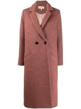 Mara Hoffman Dolores double-breasted coat - PINK