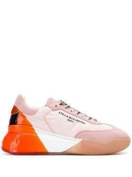 Stella McCartney Loop lace-up sneakers - K578 PINKS