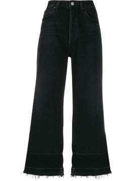 Citizens Of Humanity high waist cropped jeans - Black