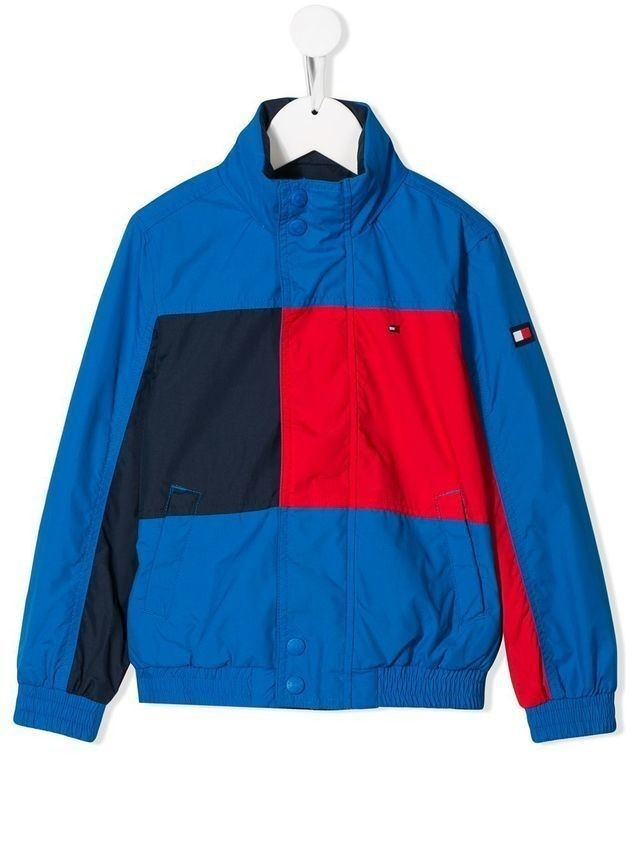 Tommy Hilfiger Junior reversible colour block jacket - Blue