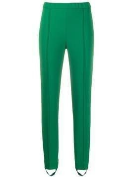 Givenchy piped seams leggings - Green