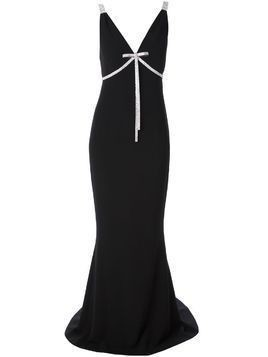 Dolce & Gabbana fitted gown - Black