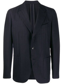Caruso regular suit jacket - Blue