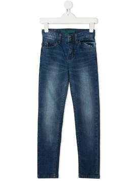 Zadig & Voltaire Kids light-wash straight leg jeans - Blue